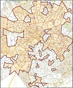 Homes in Charlotte Map